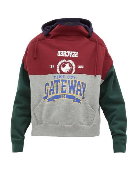 Vetements - Bad Gateway Deconstructed Hooded Sweatshirt - Womens - Multi