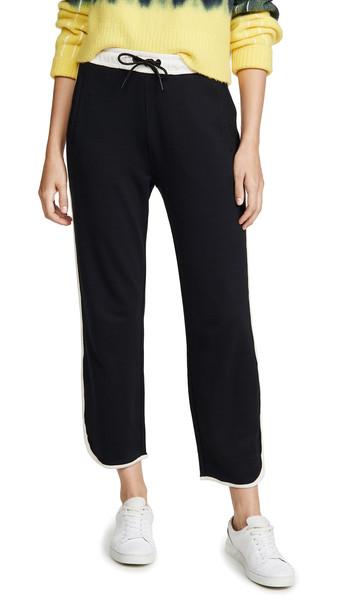 Rag & Bone/JEAN Coast Track Pants in black