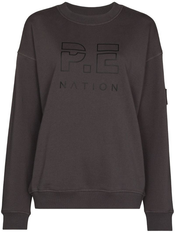 P.E Nation heads up sweatshirt in grey