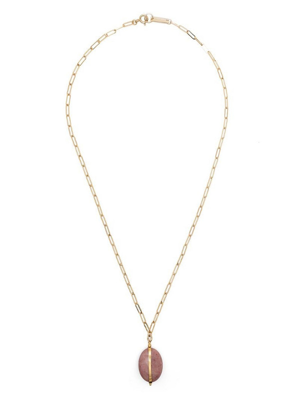 Isabel Marant Stones pendant necklace in gold