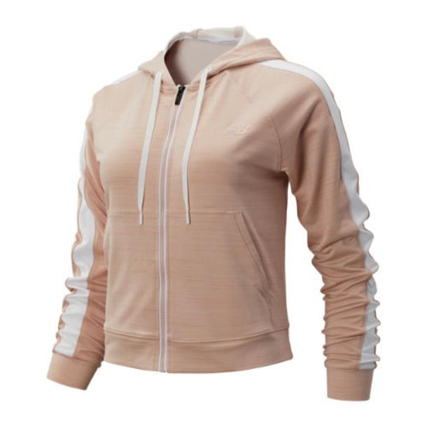 New Balance 93103 Women's Transform Jacket - Pink/White (WJ93103WOH)