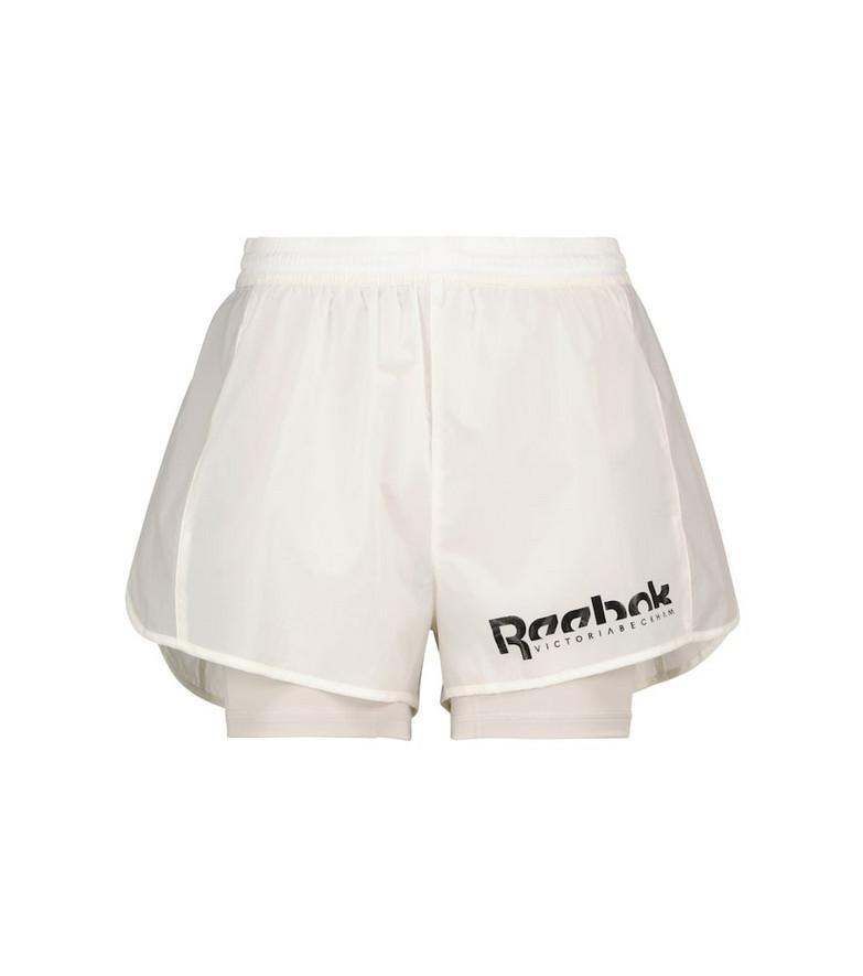 Reebok x Victoria Beckham Technical shorts in white