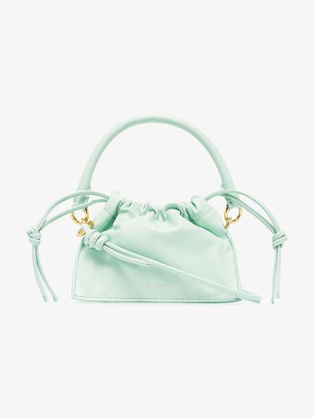 Yuzefi Green Mini Bom leather bag