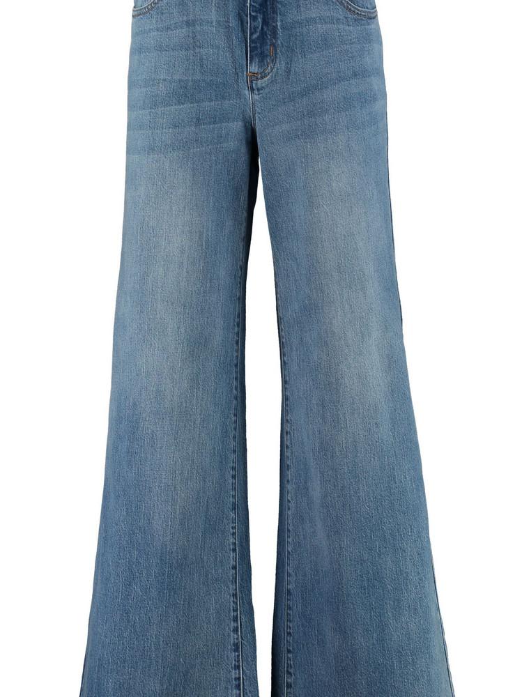 Michael Kors High-waist Wide-leg Jeans in denim / denim