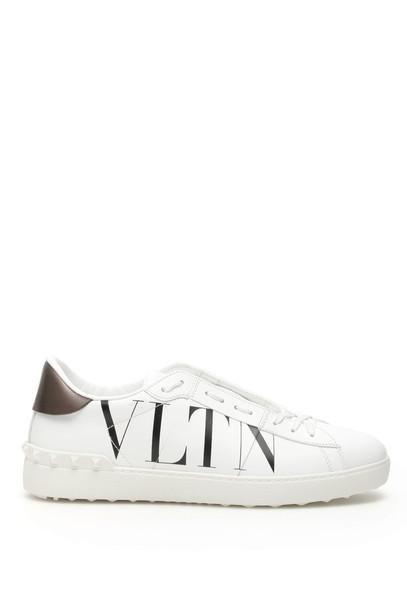 Valentino Open Vltn Sneakers in nero / bianco