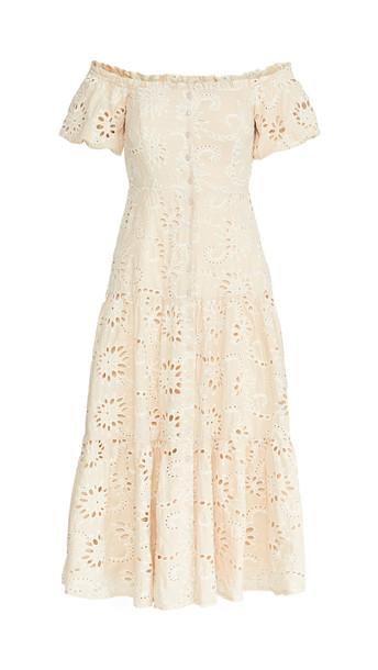 ASTR the Label Te Amo Dress in natural