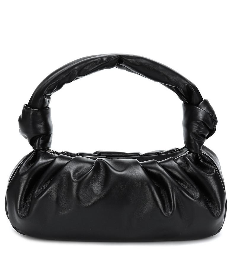 Miu Miu Leather tote in black