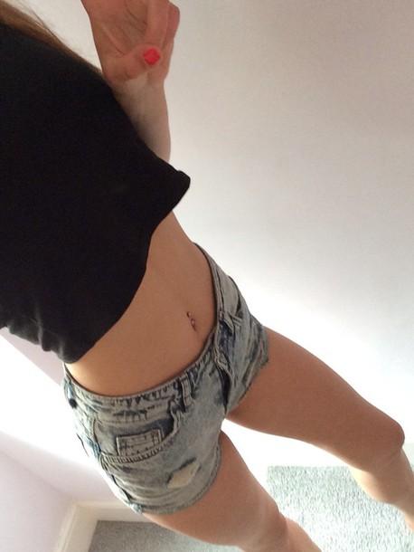 shorts shorts high waisted topshop
