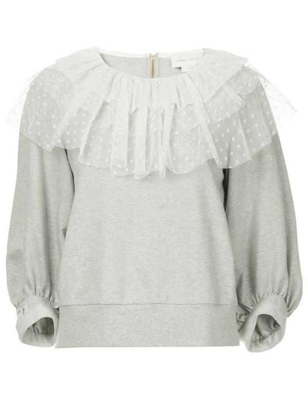Karen Walker En Passant sweatshirt in grey