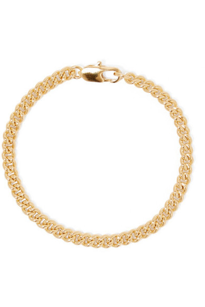 Laura Lombardi - Curb Gold-plated Bracelet