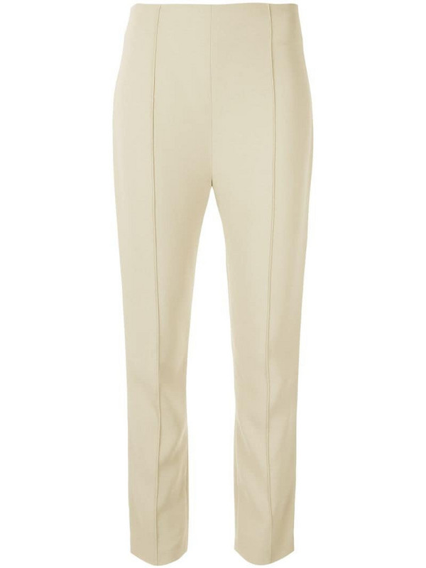 Dion Lee cady tuxedo trousers in green