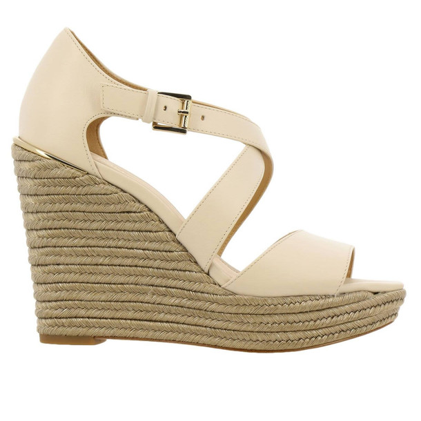 Michael Michael Kors Wedge Shoes Shoes Women Michael Michael Kors in cream / yellow