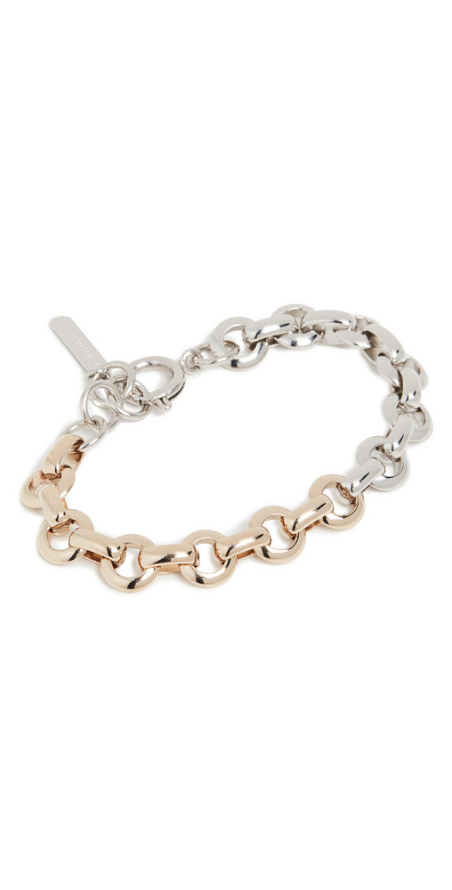 Justine Clenquet Norma Bracelet in gold / silver