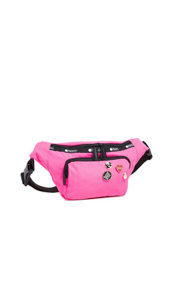 LeSportsac x Baron von Fancy Belt Bag in magenta
