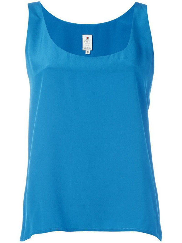 Emanuel Ungaro Pre-Owned sleeveless vest in blue