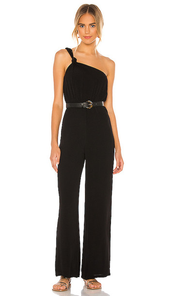 Privacy Please Blanche Jumpsuit in Black