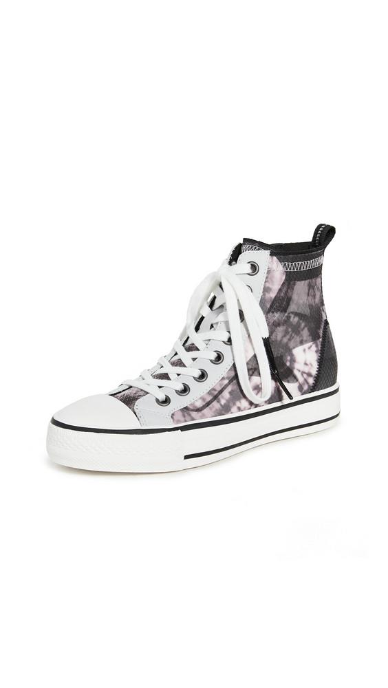 Ash Gasper High Top Sneakers in black / white