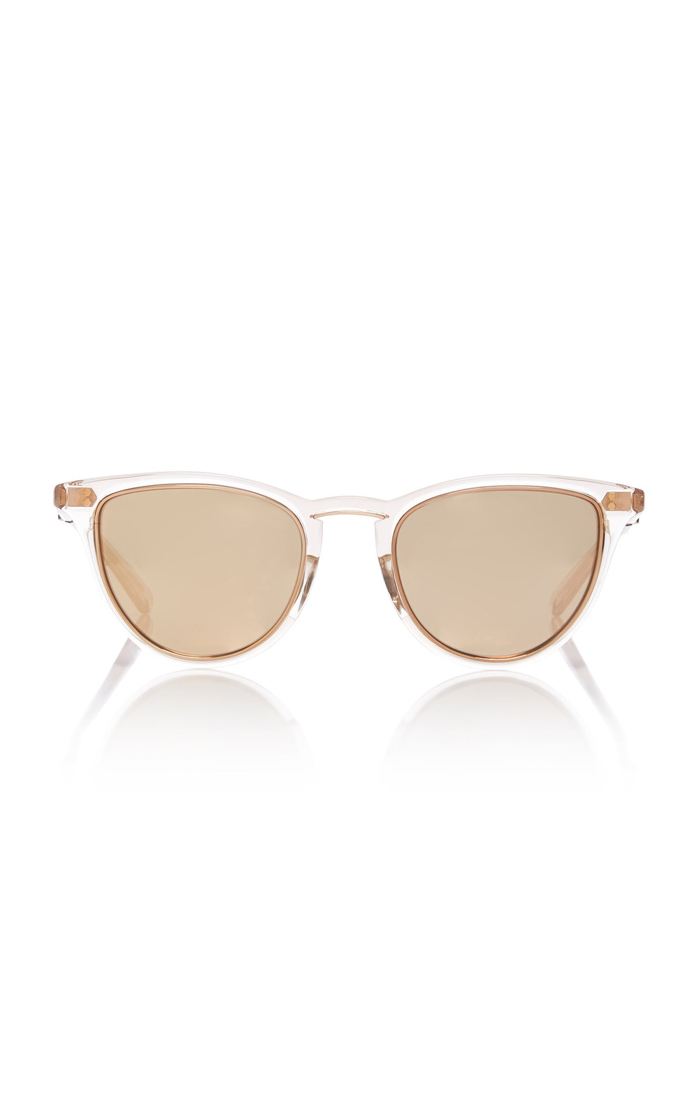 Mr. Leight Runyon Acetate Cat-Eye Sunglasses in pink