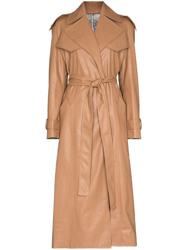 ANOUKI reversible two-tone trench coat in neutrals