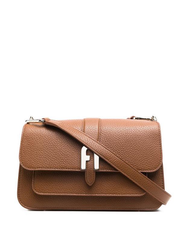 Furla Sofia grainy tote bag in brown