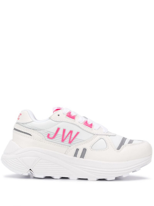 Junya Watanabe JW chunky sole sneakers in white
