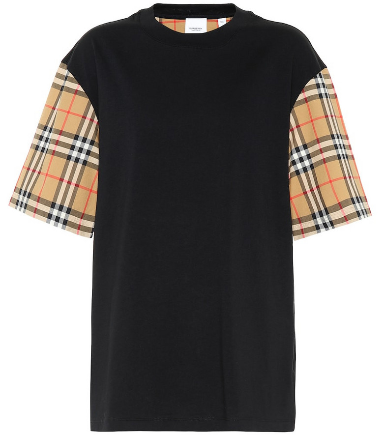 Burberry Cotton T-shirt in black