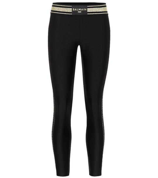 Puma x Balmain stretch leggings in black