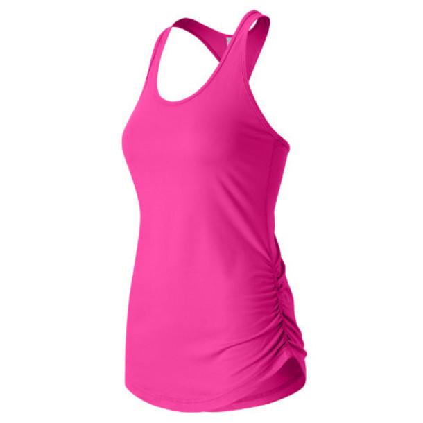 New Balance 63102 Women's Perfect Tank - Pink (WT63102FUS)