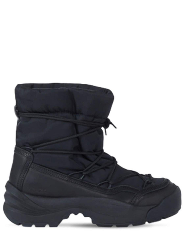 50mm Kenzo Work Snow Boots in black