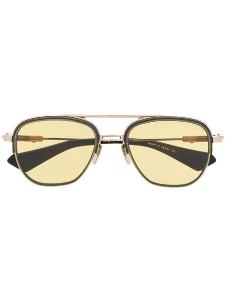 Dita Eyewear pilot shaped sunglasses in gold