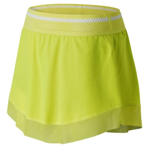 New Balance 61406 Women's Tournament Skort - Yellow (WK61406FFY)