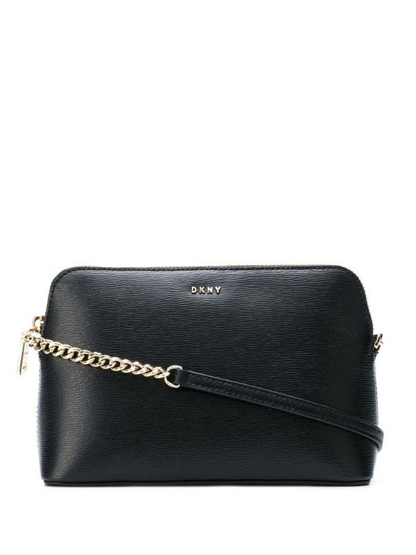 DKNY mini crossbody bag in black