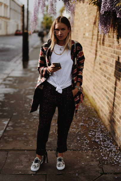 en vogue coop blogger coat shirt pants shoes bag