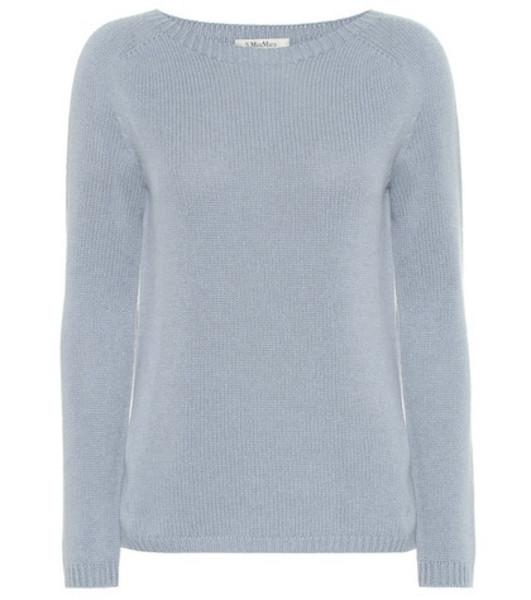 S Max Mara Giorgio cashmere sweater in blue