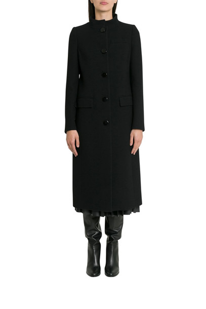 Givenchy Single-breasted Coat in nero