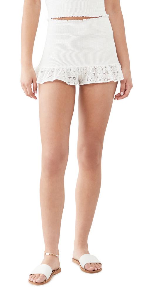 Peixoto Katya Shorts in white