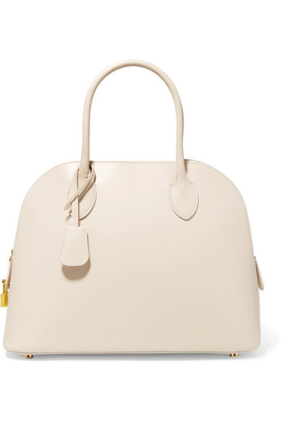 The Row - Lady Leather Tote - Ivory