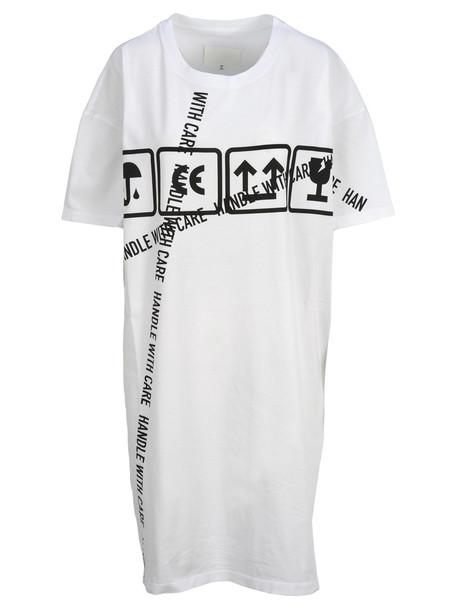 Maison Margiela Martin Margiela Maxi Tshirt Dress in white