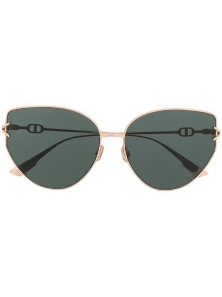 Dior Eyewear DiorGipsy1 butterfly-frame sunglasses in gold