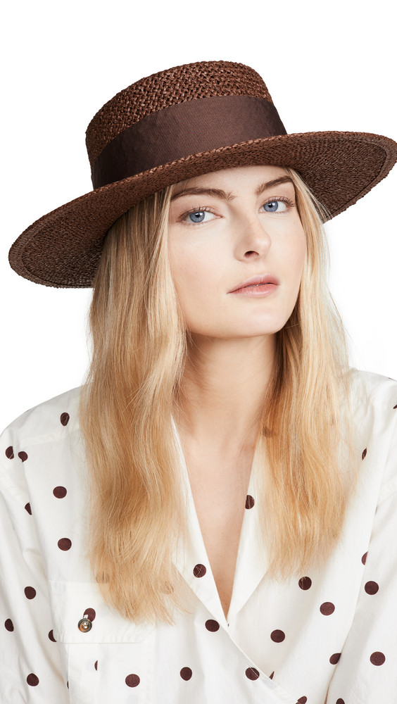 Brixton Dara Hat in brown