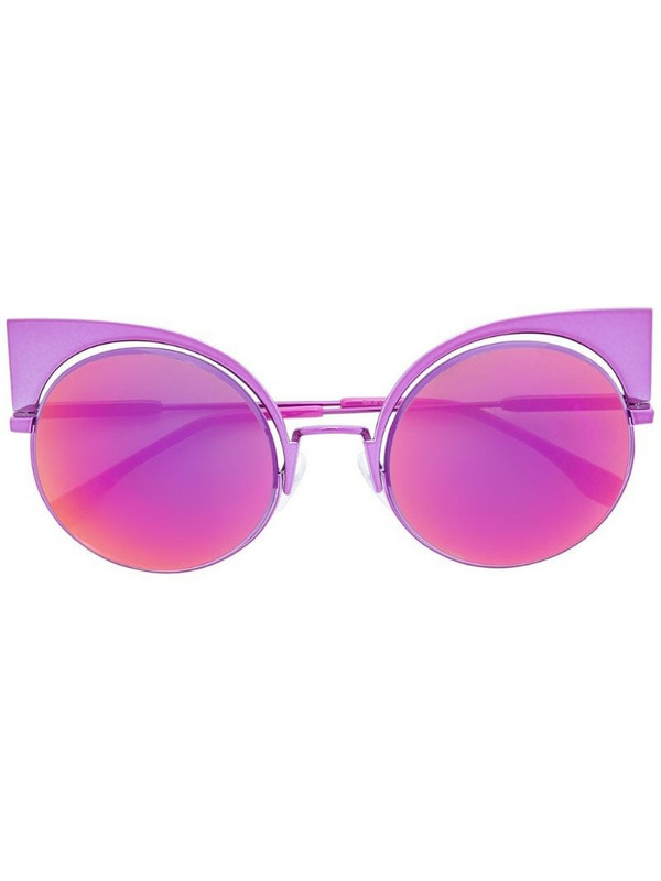Fendi Eyewear Eyeshine sunglasses in pink