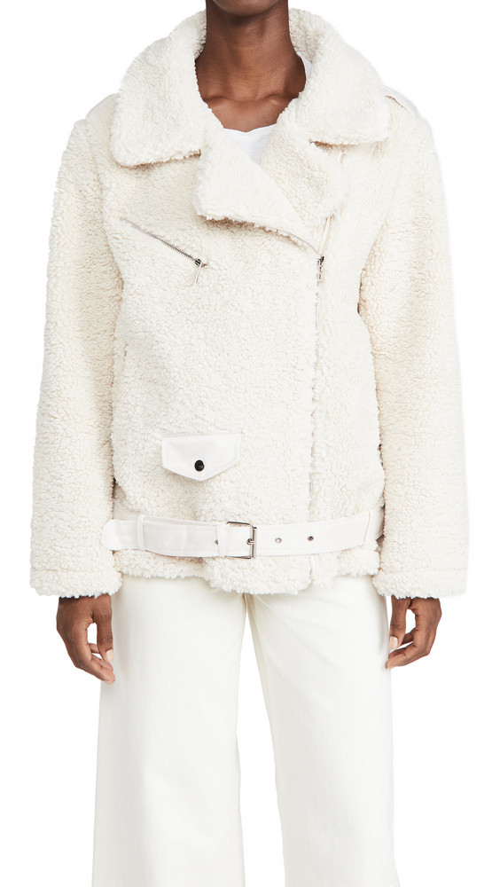 Lioness On The Road Jacket in cream