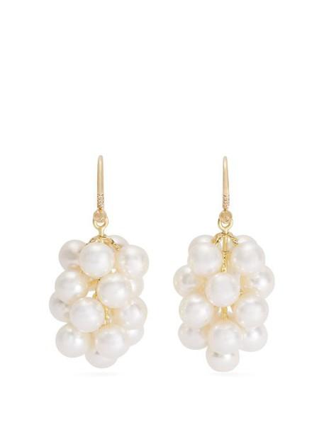 Irene Neuwirth - Akoya Pearl And Yellow Gold Earrings - Womens - Pearl