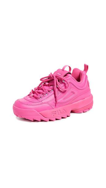 Fila Disruptor II Premium Sneakers in purple