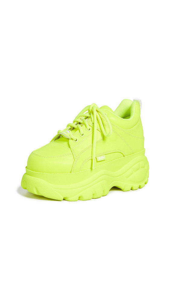 Buffalo London 1337-14 Classic Kicks Sneakers in yellow