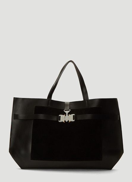 1017 ALYX 9SM Tri-Buckle Tote Bag in Black size One Size