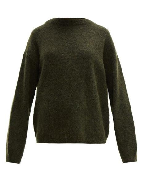 Acne Studios - Dramatic Oversized Knit Sweater - Womens - Khaki