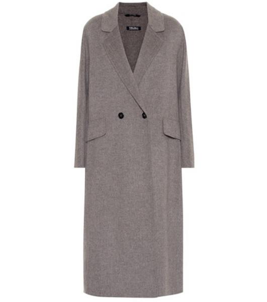 S Max Mara Cardi wool coat in grey