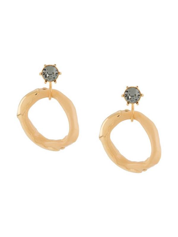 colville Calamari hoop earrings in gold