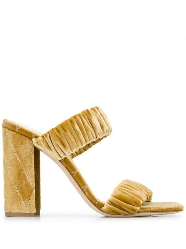 Chloe Gosselin Morgan slip-on sandals in gold